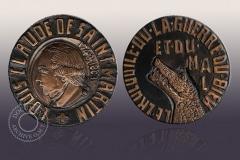 Médaille commémorative en bronze