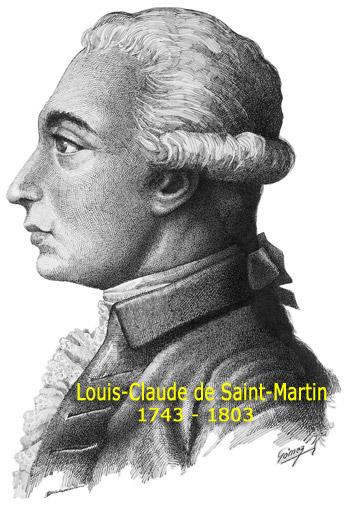 Louis Claude de St Martin