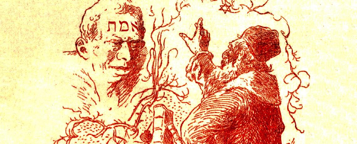 Golem et Rabbi Loeb