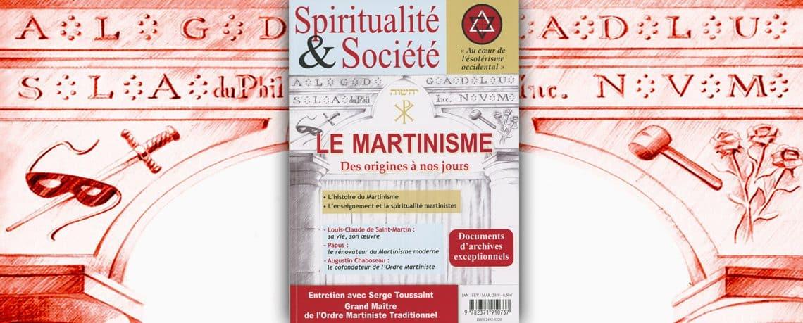 Revue Spiritualité et Société sur le Martinisme