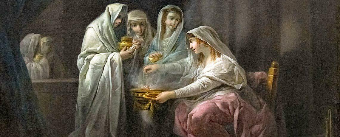 Nouveauté : Le féminin dans le temple